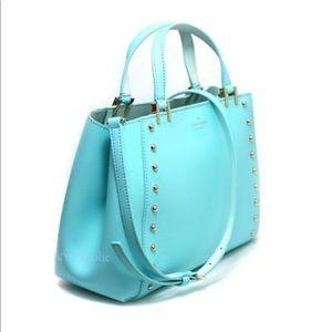 Kate Spade Sanders place Romily studded satchel